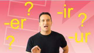 キックスタート英語勉強法 039 英会話 初心者のために er ir ur は早口言葉基で基本英語の発音を練習しましょう