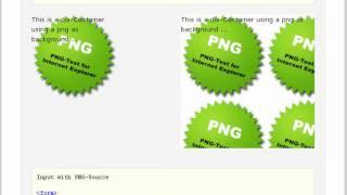 Corrigindo erro de imagem com fundo transparente no Internet Explorer 6