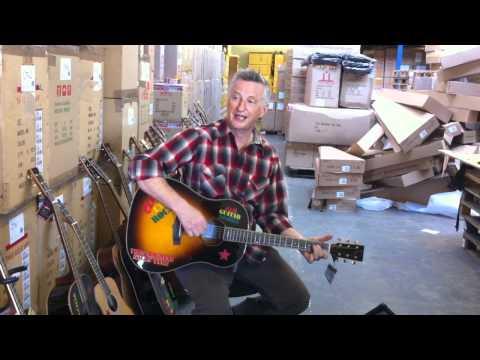 Billy Bragg & Tanglewood Guitars