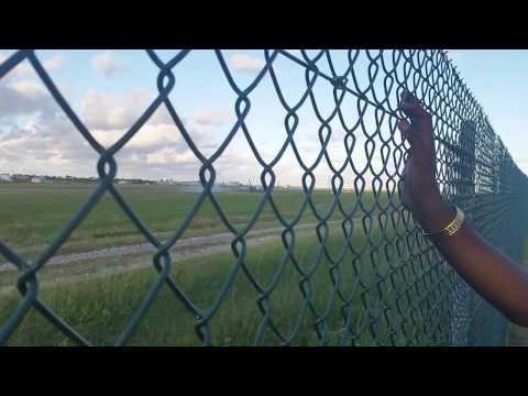 Barbados airport track