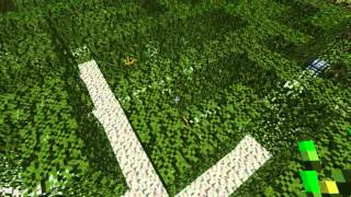 Minecraft ModdedSurvival ep 1 TORNADO AND FIRE STORM