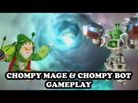 Skylanders Imaginators - Chompy Mage & Chompy Bot GAMEPLAY - CHOMPY POWER TEAM N°2