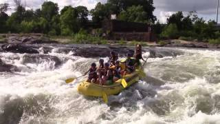 Whitewater Rafting Carnage: Cutbait on Chattahoochee River