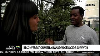 In conversation with a Rwandan genocide survivor