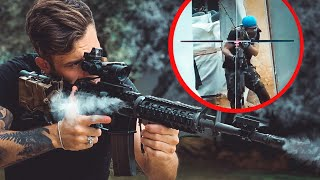 AIRSOFT CHEATER gets LIT UP with 400 FPS M4 😱🤣(Fails, Funny & Epic moments)