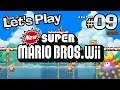 Let's Play New Super Mario Bros. Wii - Episode 09 - Bongo and the Creepy Urchins
