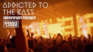 Смотреть клип Brennan Heart X Harris & Ford - Addicted To The Bass