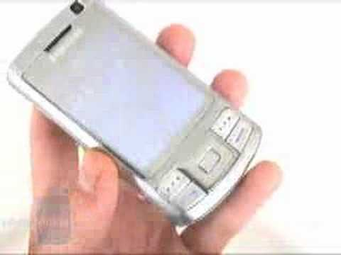 Samsung SGH-G810 Preview