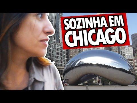 SOZINHA EM CHICAGO - Estados Unidos - Fabiana Viaja