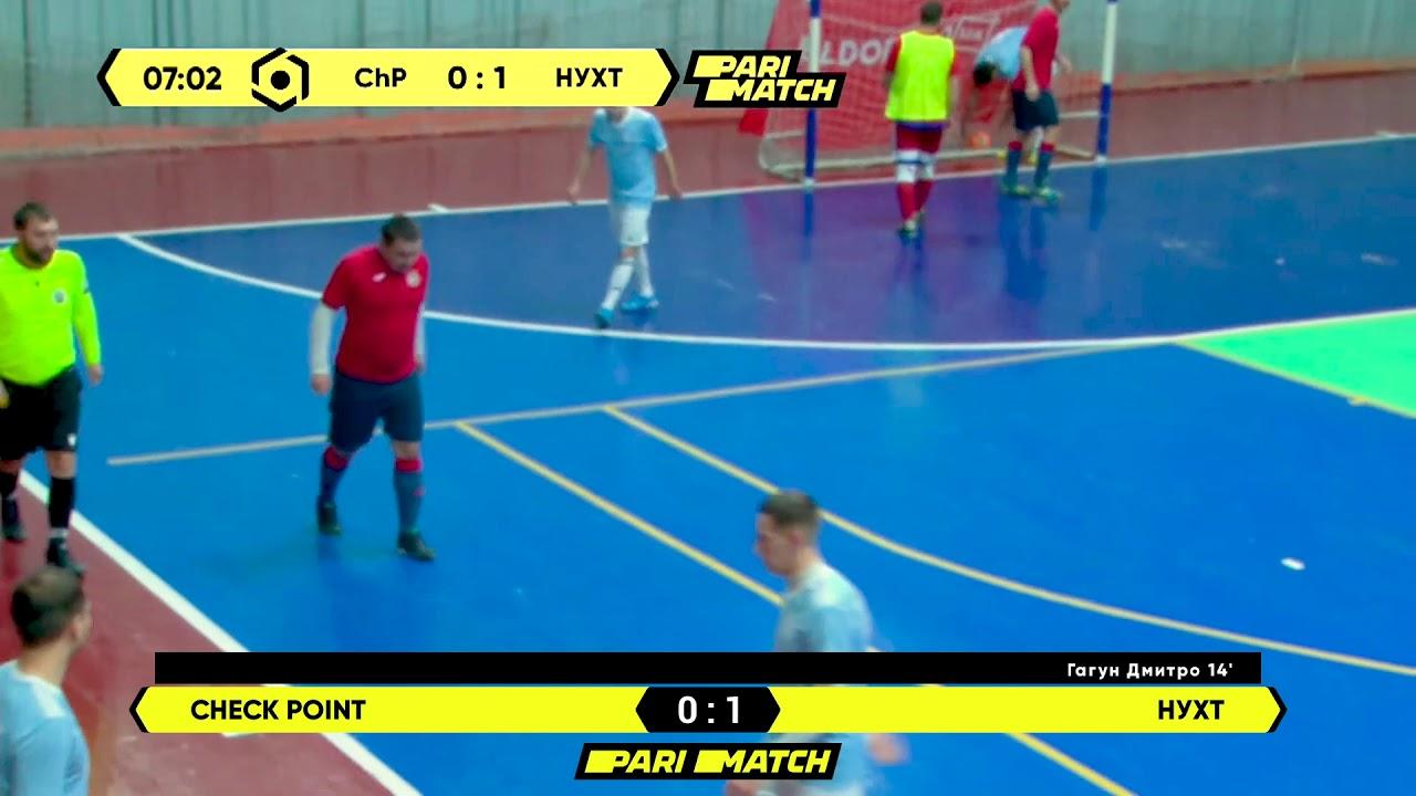 Огляд матчу | Check Point 2 : 3 НУХТ