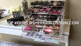 $50 vs $500 - Everything You Need To Know About Clear Acrylic Makeup Organizers