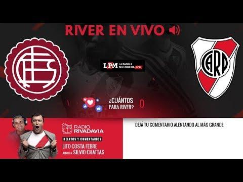 Lanús vs River EN VIVO - Copa Libertadores - Con los relatos de Lito Costa Febre