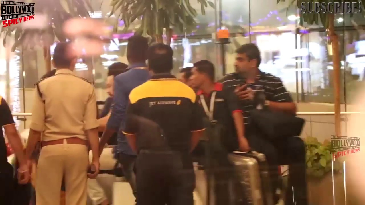 Salman Khan Spotted At Airport