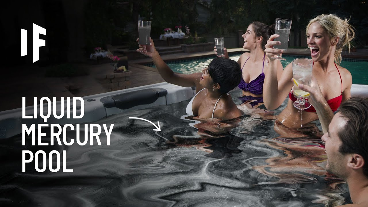 What If You Jumped Into a Pool of Liquid Mercury?