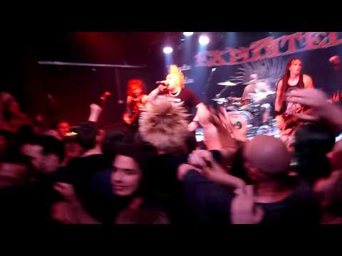 THE EXPLOITED - Chaos Is My Life - Live @ Zagreb 13.07.2015