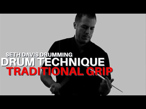 Seth Davis Drumming: #63 - Traditional Grip (2012)