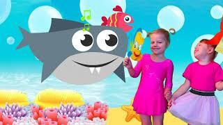 Baby Shark Dance Songs | Kids Songs and Nursery Rhymes | Animal Songs