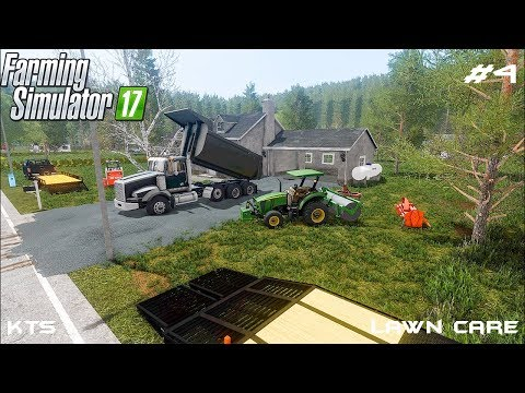 Building driveway | Lawn Care | Farming Simulator 2017 | Episode 4 thumbnail