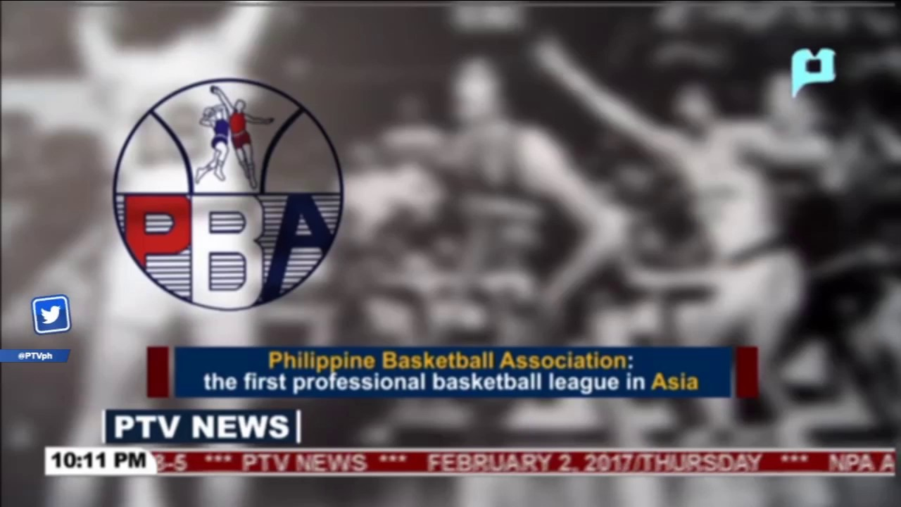 Philippine Basketball Association: The first professional basketball league  in Asia