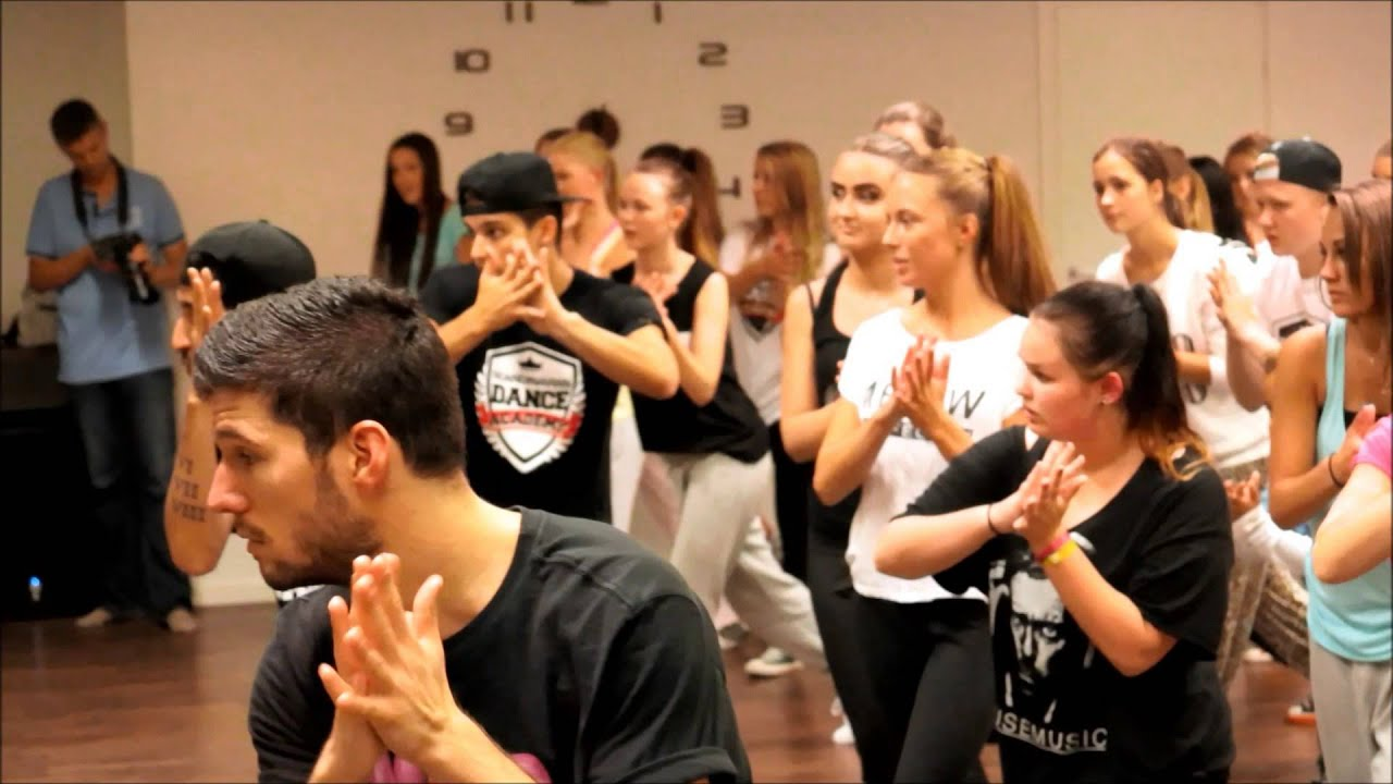 Dance lesson with Eric Saade at Scandinavian Dance Academy part 1 ...