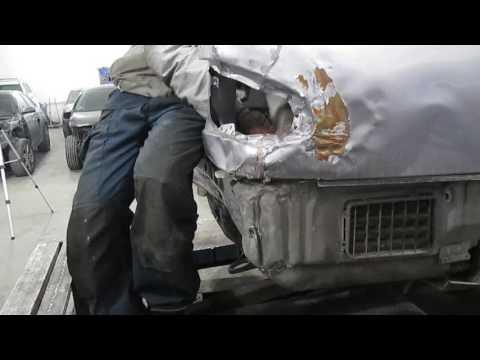 Mercedes Benz E Кузовной ремонт в Армении/body Repair In Armenia