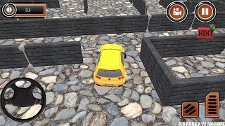 Puzzle Car Parking: Escape the Maze 2 Parking Maze Simulator 2018 - Android GamePlay#levels 1 to 12