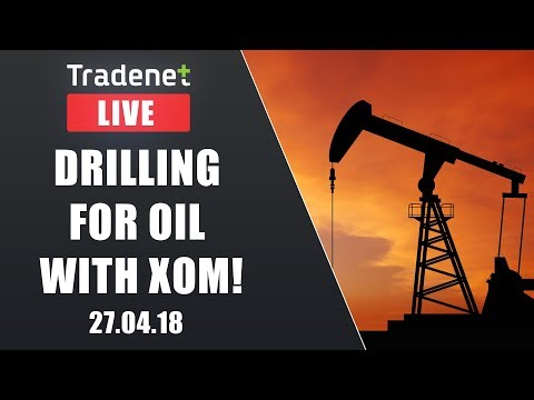live Day Trading - Drilling for Oil with XOM!