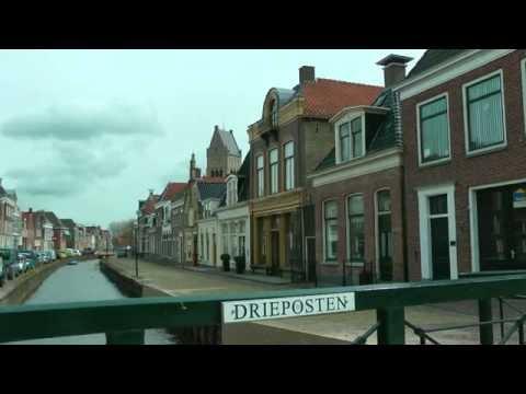 NETHERLANDS Bolsward, Friesland (hd-video)