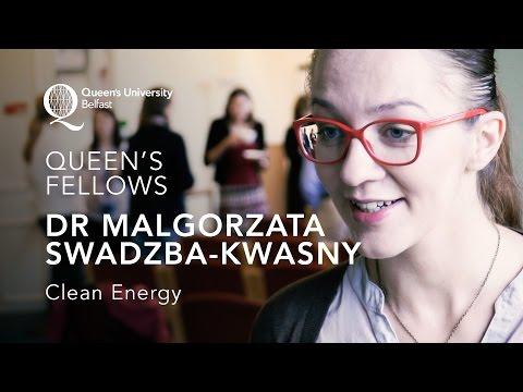 Queen's Fellows - Dr Malgorzata Swadzba-Kwasny - Clean Energy