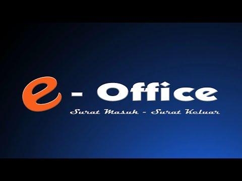 e-Office - Surat Masuk & Surat Keluar