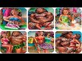 Polynesian Princess Moana and Maui emerging Relationship of Lovers - Fun Games Compilation for Kids
