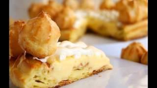 Классический торт Сент-Оноре, пошаговый рецепт