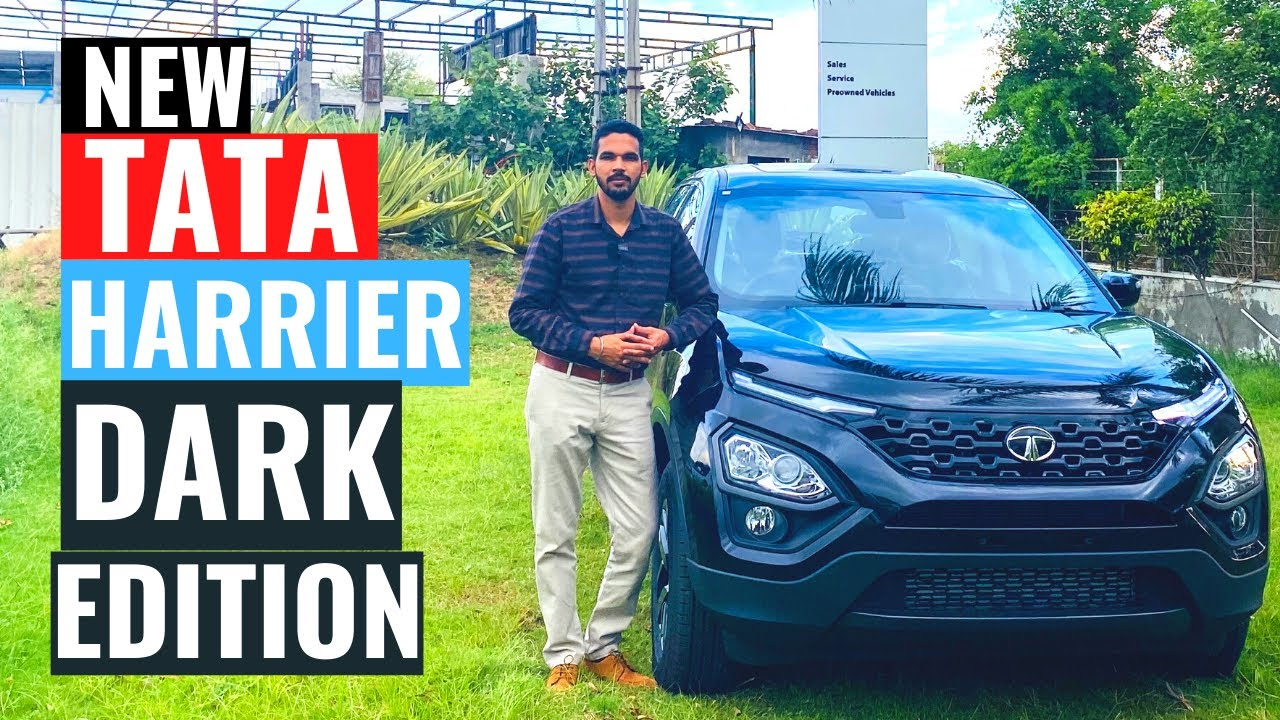 2020 Tata Harrier Dark Edition review | Tata Harrier with sunroof | Interior & Exterior | CarQuest