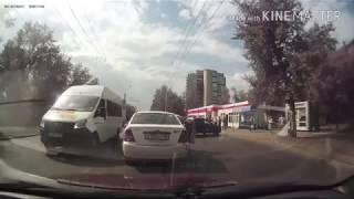 Момент смертельного наезда на пешехода по пр. Мира (28.08.2017)