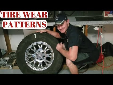 Tire Wear Patterns And What They Mean?