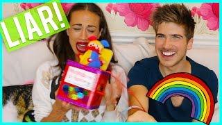 GAY LIE DETECTION TEST- W/MIRANDASINGS!