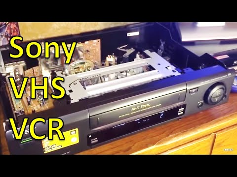 Sony VHS VCR SLV-720HF Overview