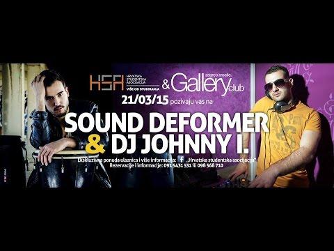 Dj Johnny I. I Sound Deformer - Gallery Club - Zagreb (21.03.2015.)
