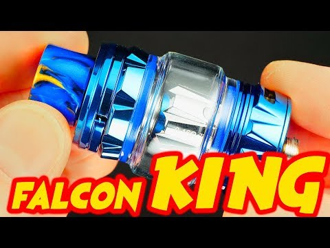 Bamboo Fiber Coil Heads? Falcon King SubOhm Tank By HorizonTech!