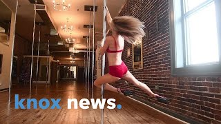 Learn beginner level pole fitness moves