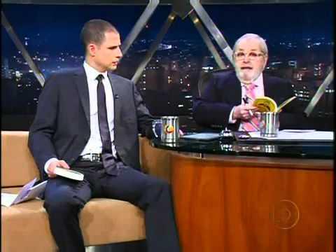 Jô Soares entrevista Ricardo Araujo Pereira 19 03 2012