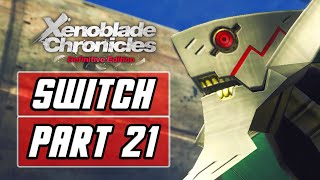 Xenoblade Chronicles: Definitive Edition [SWITCH] Gameplay Walkthrough Part 21 - Mechonis Field
