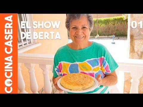 Tortilla de patatas de la abuela berta youtube - Cocina casera de la abuela ...