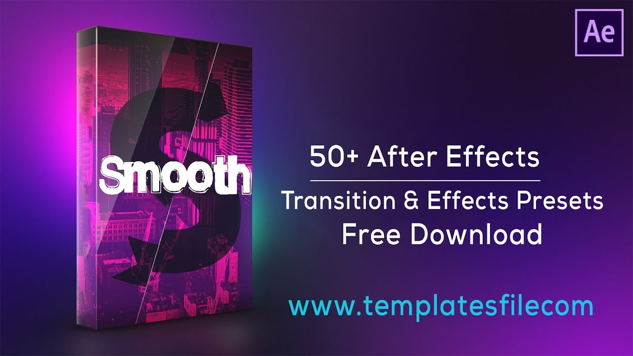 after effects transition presets free download