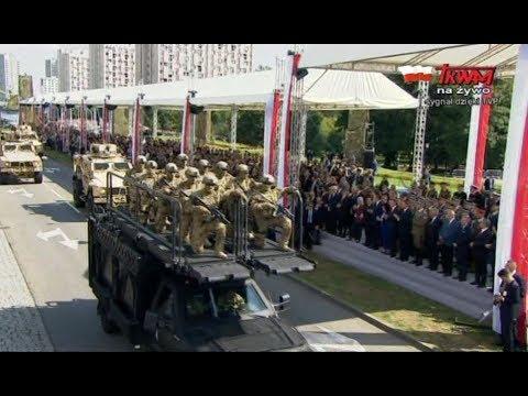 Katowice: Defilada wojskowa z okazji Święta Wojska Polskiego