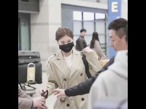 Suzy Bae 수지 Arrived in airport icheon Korea 배수지