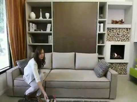 armoire lit canap storage youtube. Black Bedroom Furniture Sets. Home Design Ideas
