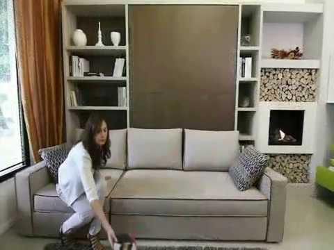 Armoire lit canap storage youtube - Ikea lit armoire escamotable ...
