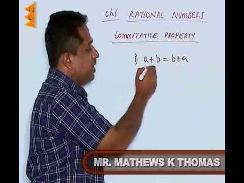 CBSE class 8-Chapter 1-Commutative And Associative Properties