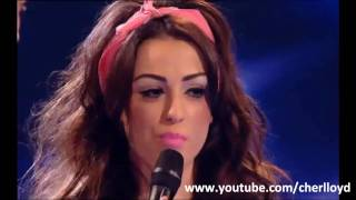 vuclip Cher Lloyd sings Girlfriend by Avril Lavigne Live Show 8 X Factor 2010 HQ/HD